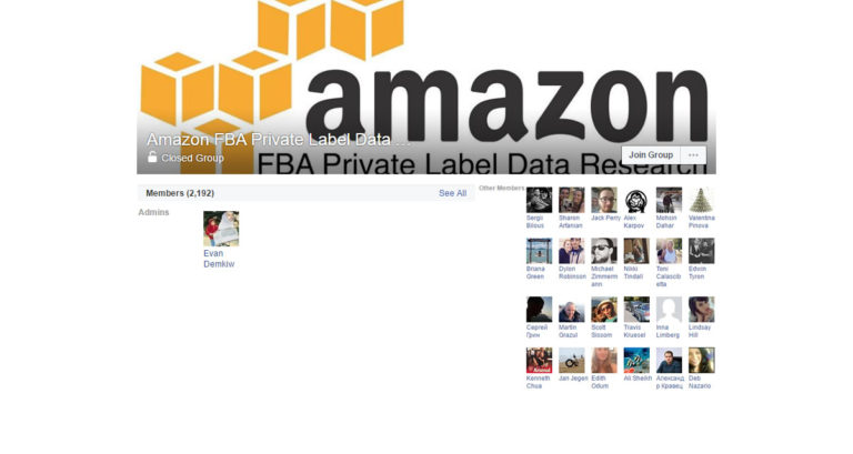 Amazon FBA Private Label Data Research ( Facebook Group )