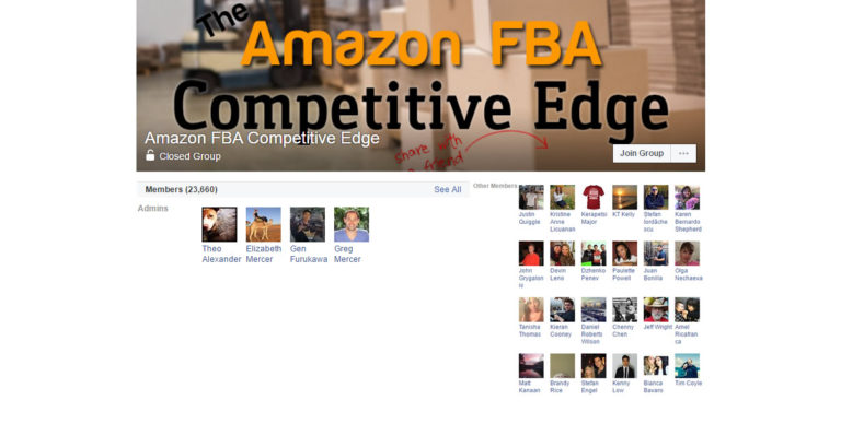 Amazon FBA Competitive Edge ( Facebook Group )