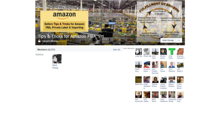 Tips & Tricks for Amazon FBA, Private Label & Importing ( Facebook Group )