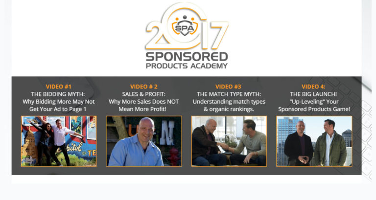 Sponsored Product Academy