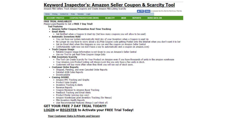 Amazon Seller Coupon & Scarcity Tool