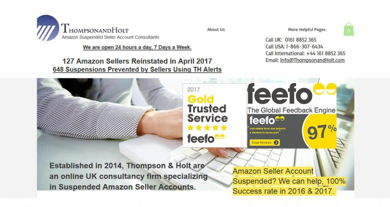 Amazon Seller Account Suspended Consultants