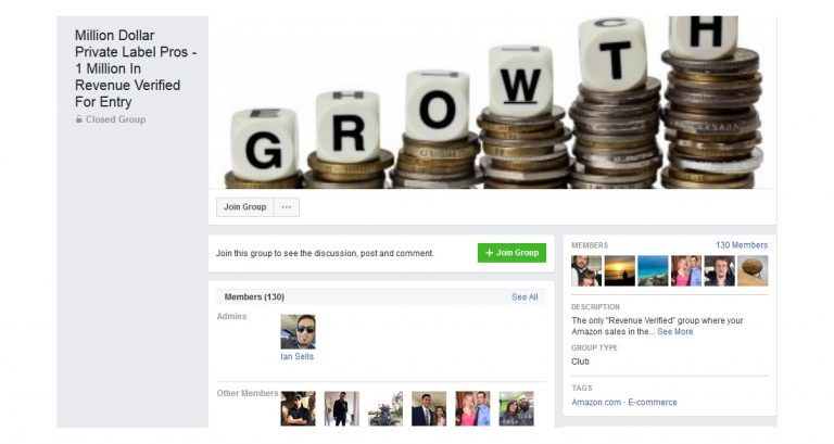 Million Dollar Private Label Pros - 1 Million In Revenue Verified For Entry