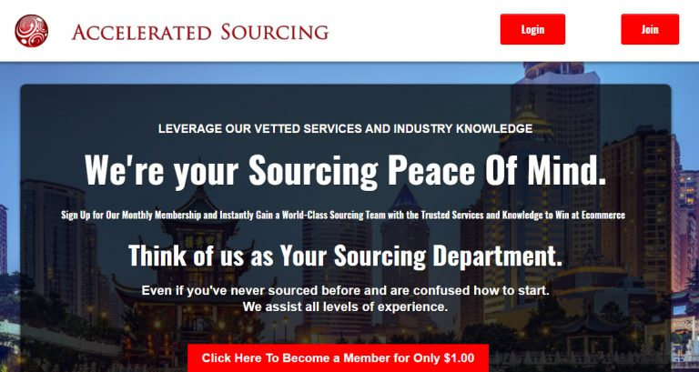 Accelerated Sourcing