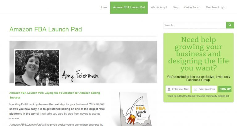 Amazon FBA Launch Pad by Amy Feierman