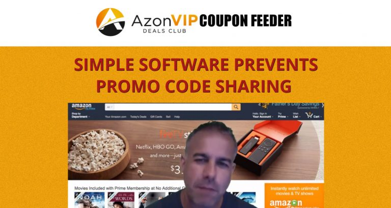 Azon VIP Coupon Feeder
