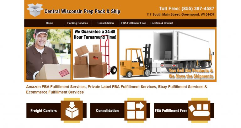 Central Wisconsin Prep Pack & Ship