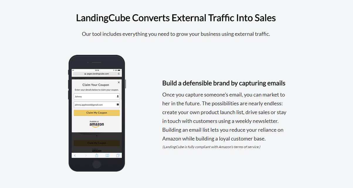 Landing cube amazon seller tools club amazon seller software landing cube 5g fandeluxe Gallery