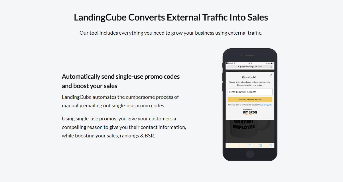 Landing cube amazon seller tools club amazon seller software landing cube 6g fandeluxe Gallery