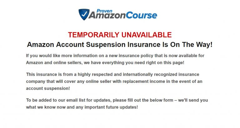 Proven Amazon Course Insure Me