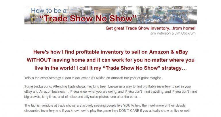 Trade Show No Show