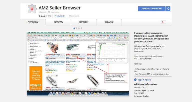 AMZ Seller Browser