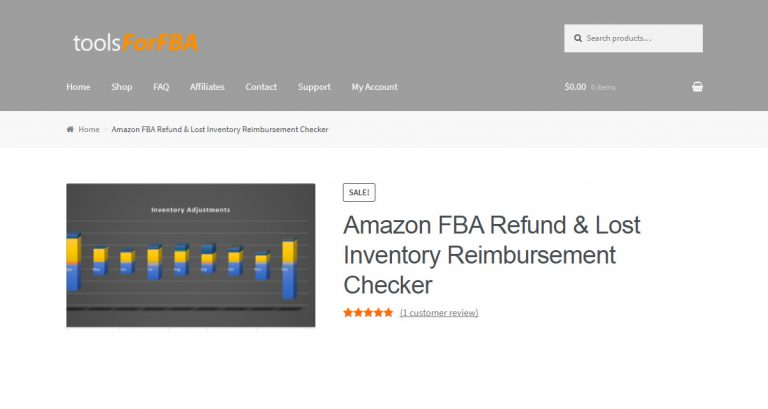 Amazon FBA Refund & Lost Inventory Reimbursement Checker