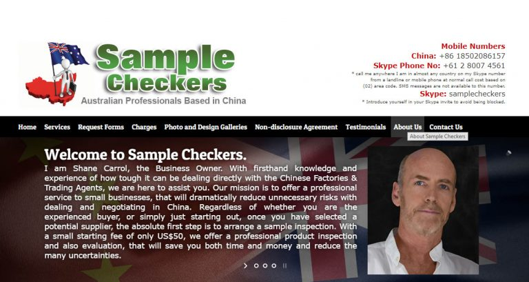 Sample Checkers