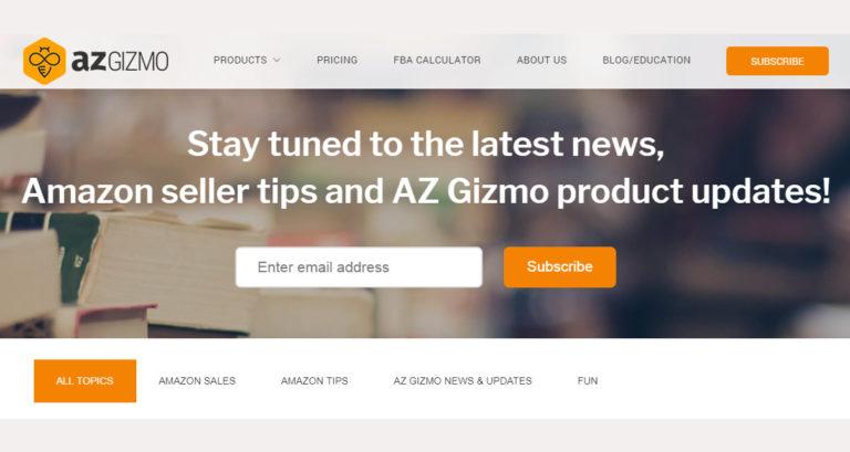 AZGizmo Selling on Amazon FBA