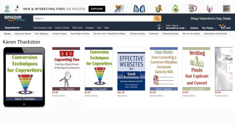 Amazon Advantage by Karon Thackston