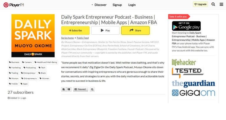 Daily Spark Entrepreneur