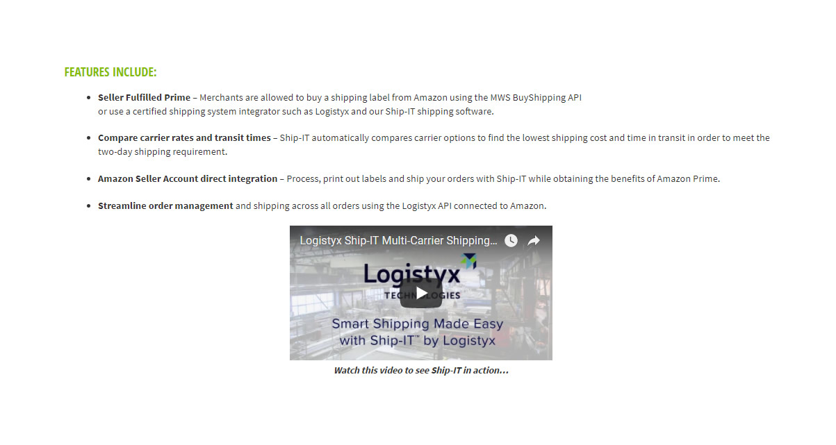 Logistyx « Amazon Seller Tools Club – Amazon Seller Software Reviews