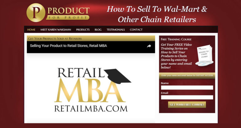Retail MBA / Product for Profit