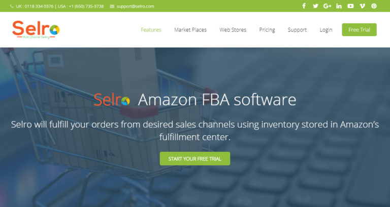SelRo Amazon FBA Software