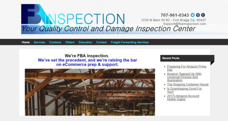 FBA Inspetion