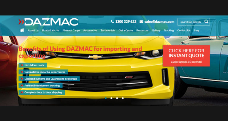 Dazmac International Logistics