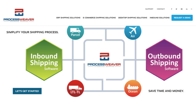 ProcessWeaver Inc - Multi Carrier Shipping Software