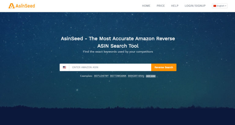 The powerful Amazon tool——Asinseed