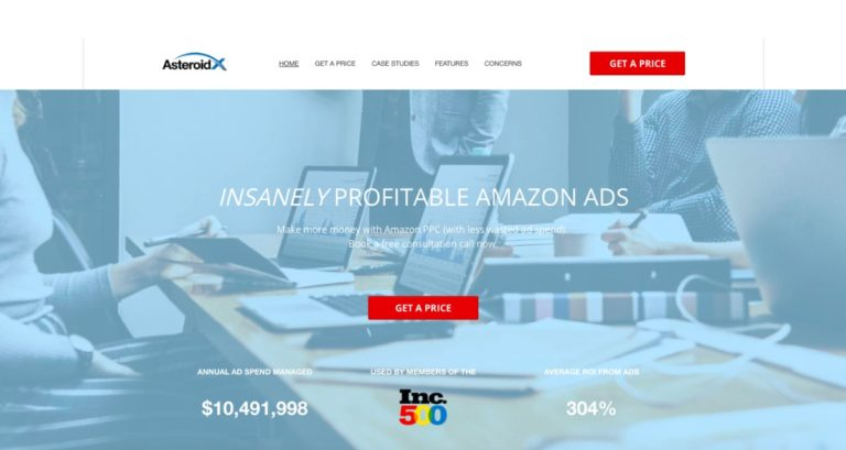 AsteroidX Amazon PPC Management Service