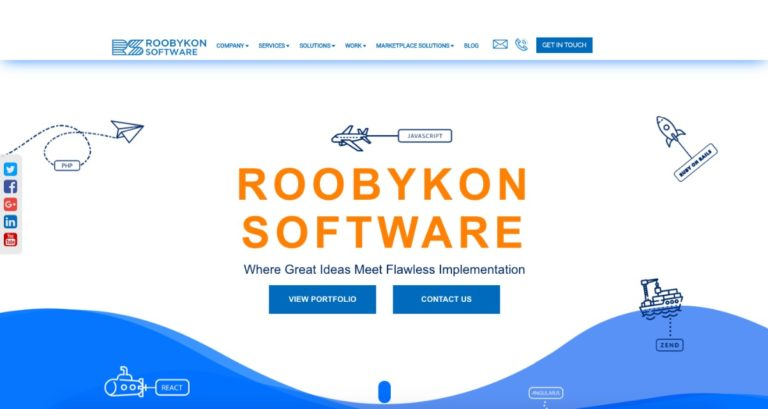 IT Company Roobykon Software