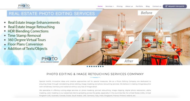 Photo Editing Services Company